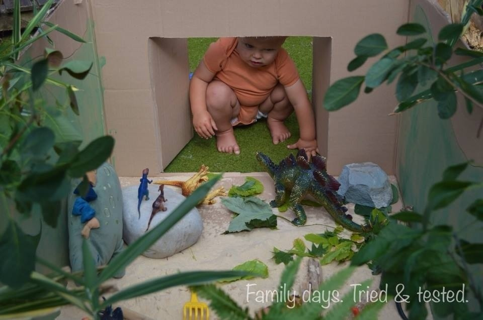 Prehistoric Toddler World in a Box