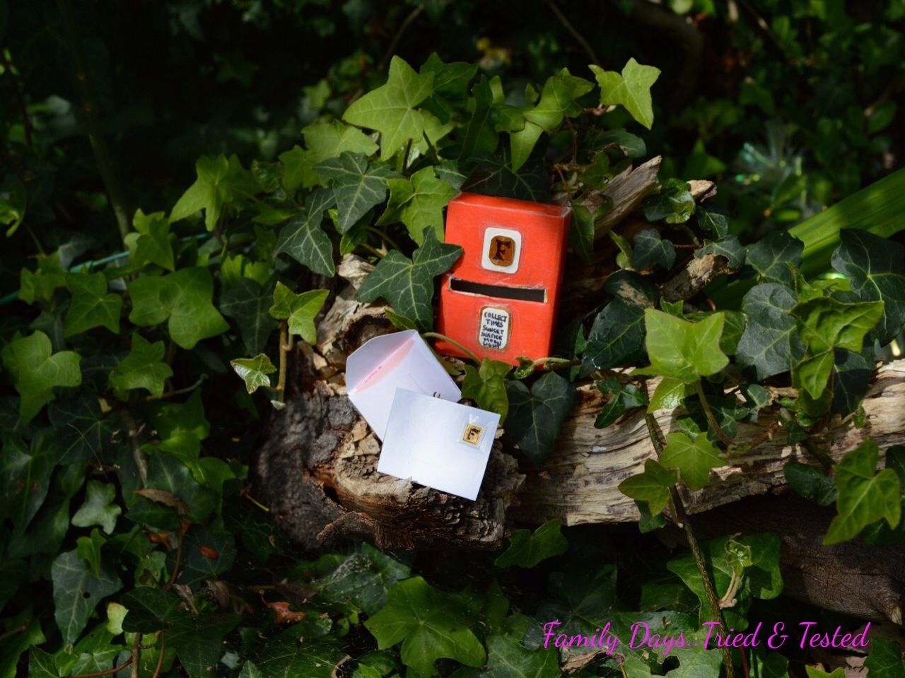 Garden Fairy Postbox