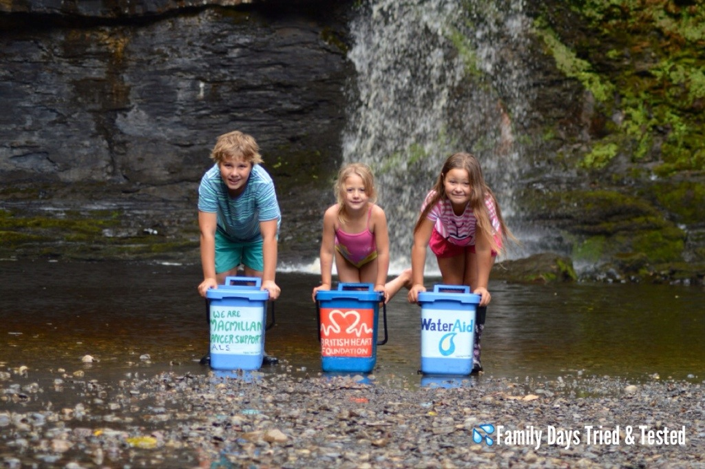 The Family Days Ice Bucket Challenge