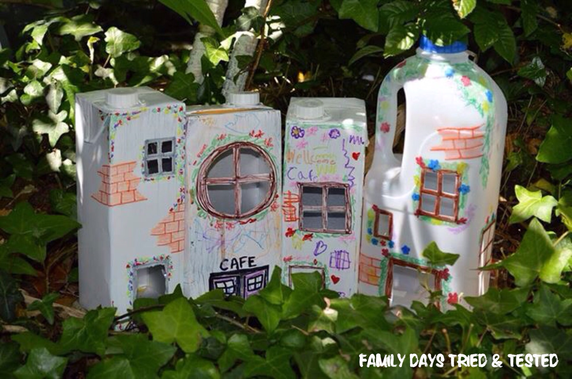 illuminating carton fairy village family days tried and tested. Black Bedroom Furniture Sets. Home Design Ideas